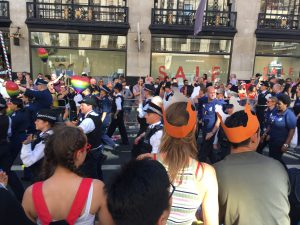 pride in london policeman