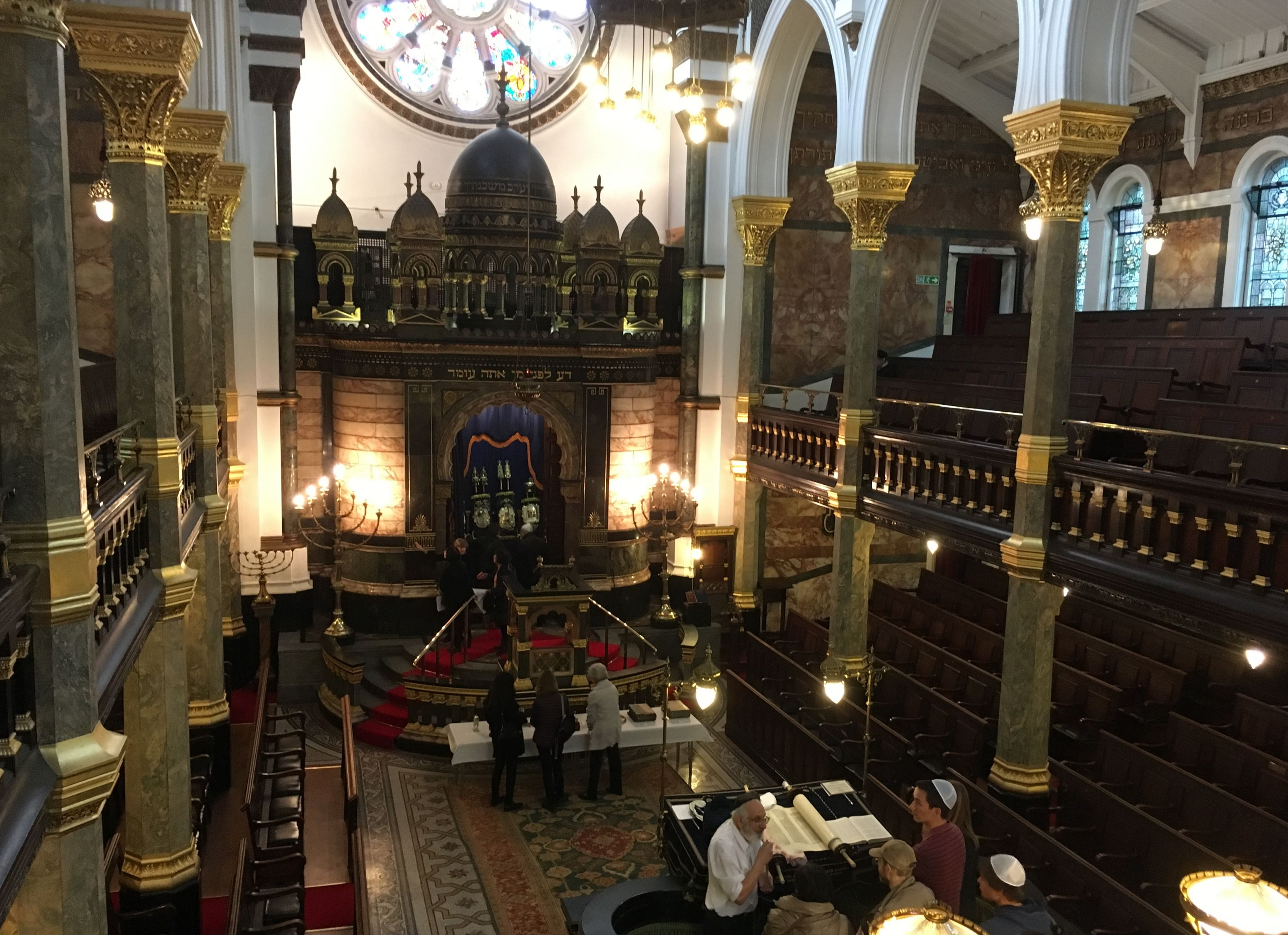 New West End Synagogue upstair