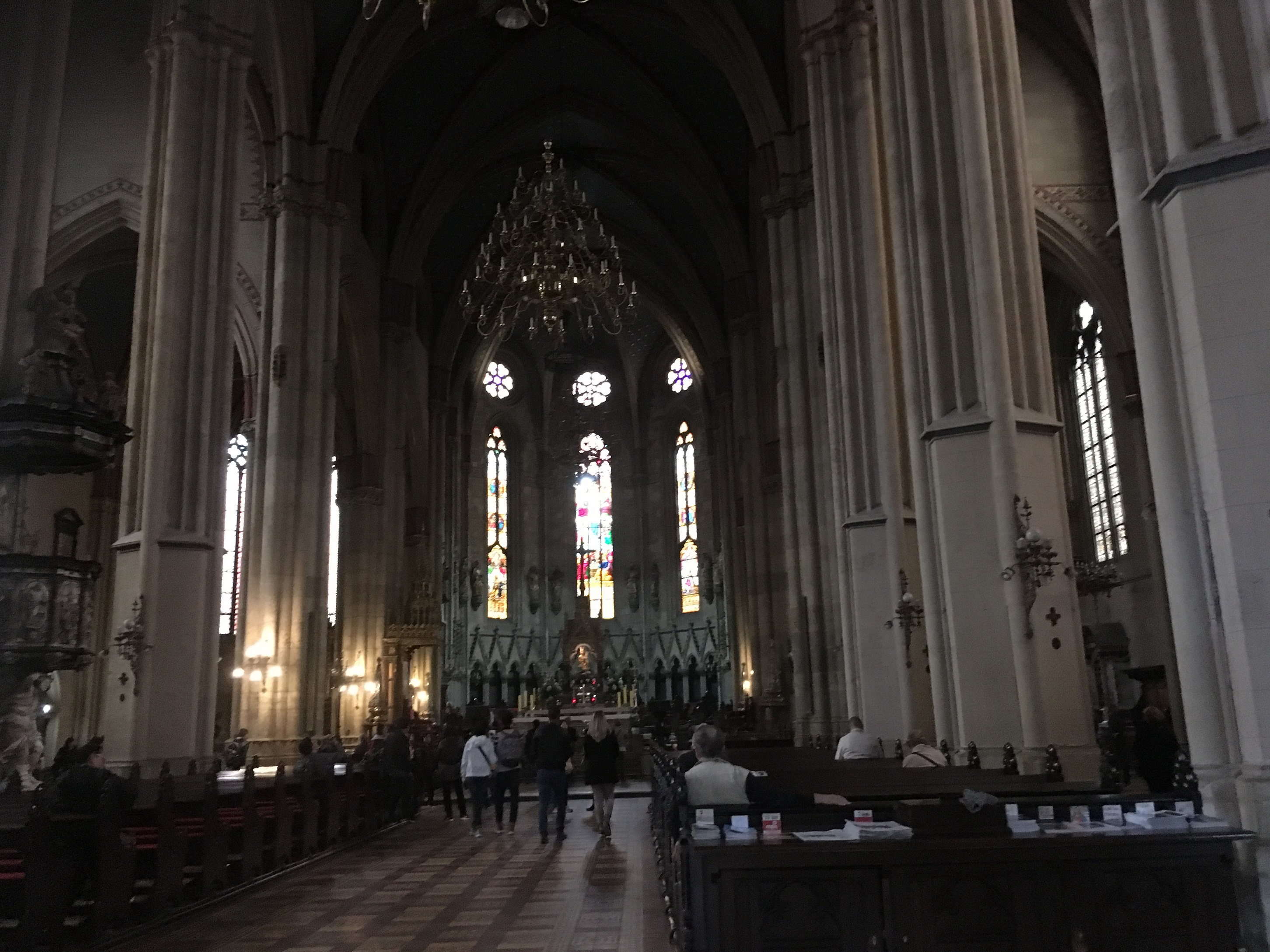 zagreb cathedral inside