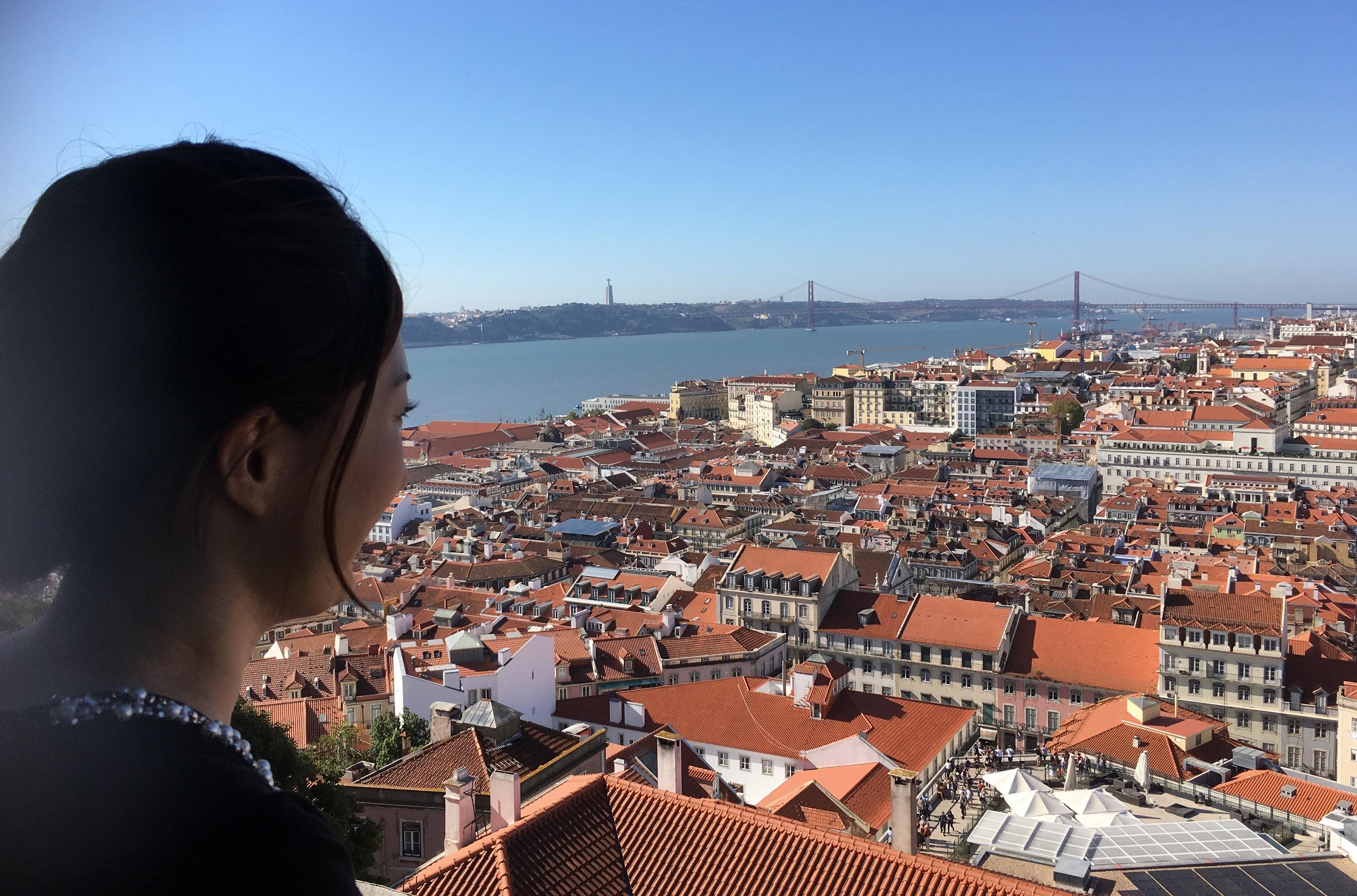 lisbon castle view