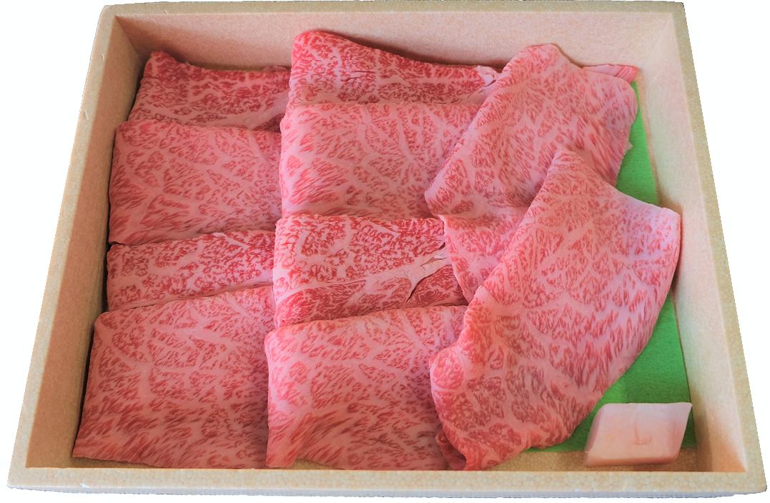 国産黒毛和牛すき焼き・焼肉用 約450g