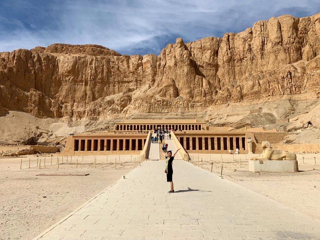 エジプト・ルクソール観光 ハトシェプスト女王葬祭殿/Temple of Hatshepsut ≫ 株式会社 西島畜産